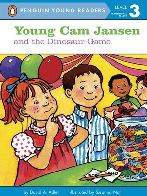 cover image of Young Cam Jansen and the Dinosaur Game
