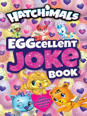 cover image of EGGcellent Joke Book