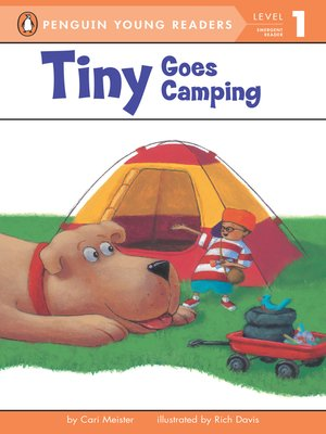 cover image of Tiny Goes Camping