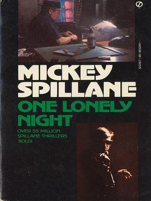 cover image of One Lonely Night