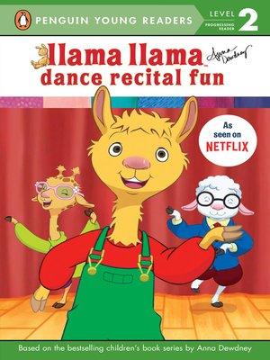 cover image of Llama Llama Dance Recital Fun