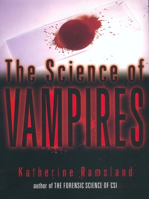 cover image of The Science of Vampires