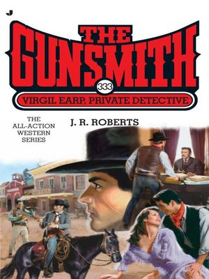 cover image of Virgil Earp, Private Detective