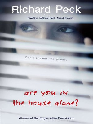 cover image of Are You in the House Alone?