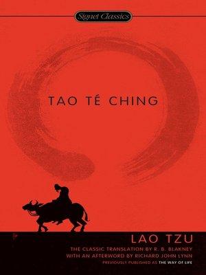 cover image of Tao Te Ching