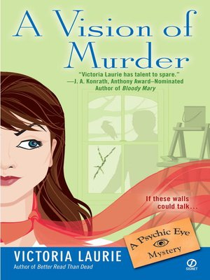 cover image of A Vision of Murder