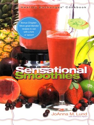 cover image of Sensational Smoothies