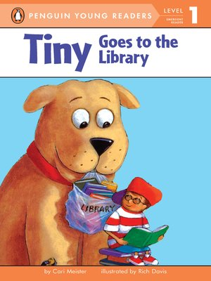 cover image of Tiny Goes to the Library