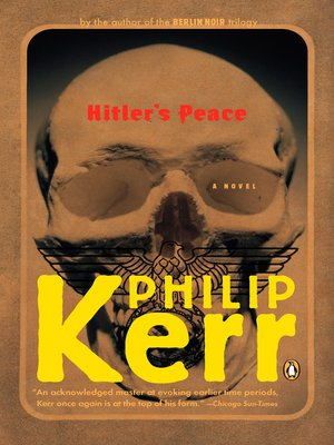 cover image of Hitler's Peace