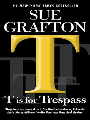 "cover image of ""T"" is for Trespass"