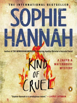 cover image of Kind of Cruel: a Zailer and Waterhouse Mystery