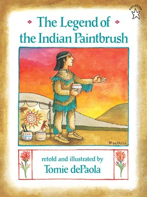 cover image of The Legend of the Indian Paintbrush