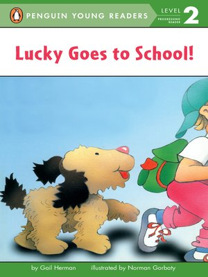 cover image of Lucky Goes to School
