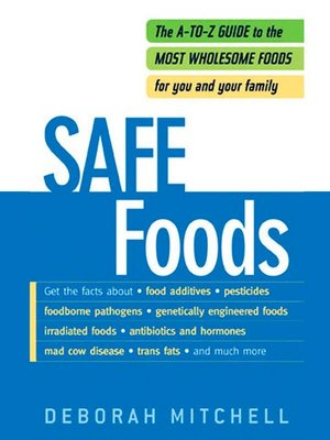 cover image of Safe Foods
