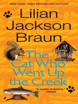 cover image of The Cat Who Went Up the Creek