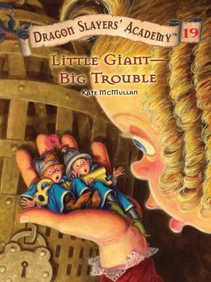 cover image of Little Giant--Big Trouble