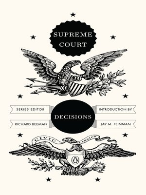 cover image of Supreme Court Decisions