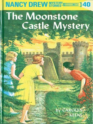 cover image of The Moonstone Castle Mystery