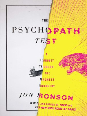 The Psychopath Test Epub