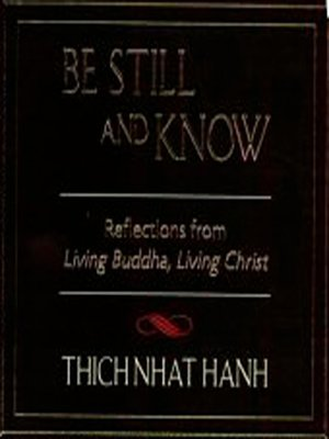 cover image of Be Still and Know