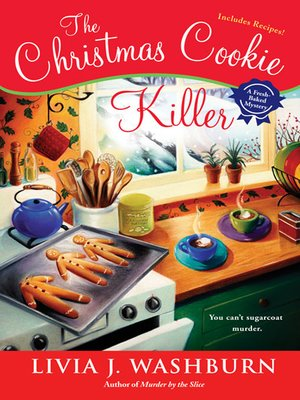 cover image of the christmas cookie killer