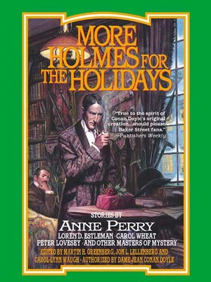 cover image of More Holmes for the Holidays