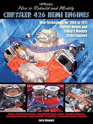 cover image of How to Rebuild and Modify Chrysler 426 Hemi Engines HP1525