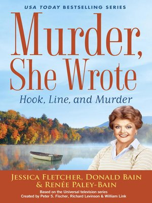 cover image of Murder, She Wrote--Hook, Line, and Murder