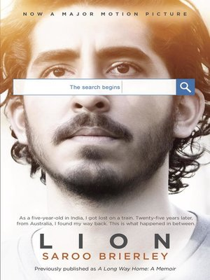 cover image of Lion (Movie tie-in edition)