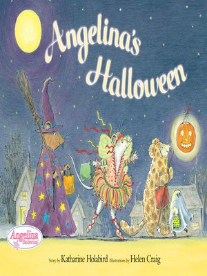 cover image of Angelina's Halloween