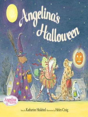 cover image of Angelina's Halloween