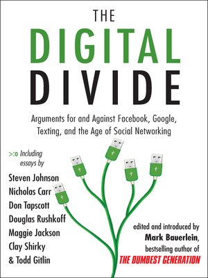 cover image of The Digital Divide