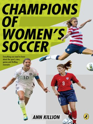cover image of Champions of Women's Soccer