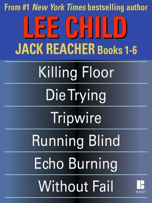 Jack Reacher Books 1 6 By Lee Child 183 Overdrive Rakuten