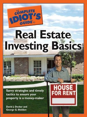 cover image of The Complete Idiot's Guide to Real Estate Investing Basics