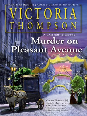 Murder on Pleasant Avenue Book Cover