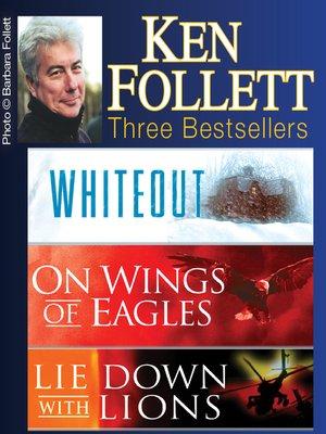 cover image of Ken Follett Three Bestsellers