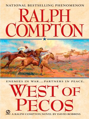 cover image of West of Pecos