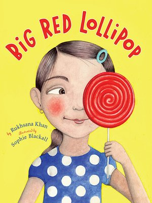 cover image of Big Red Lollipop