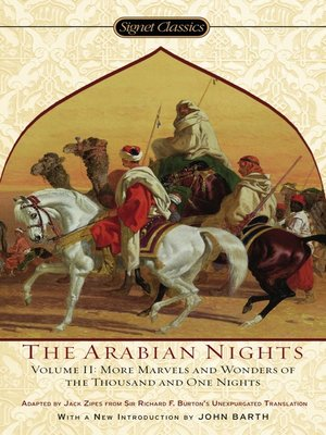 cover image of The Arabian Nights, Volume II