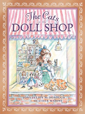 cover image of The Cats in the Doll Shop