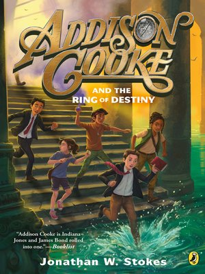 cover image of Addison Cooke and the Ring of Destiny