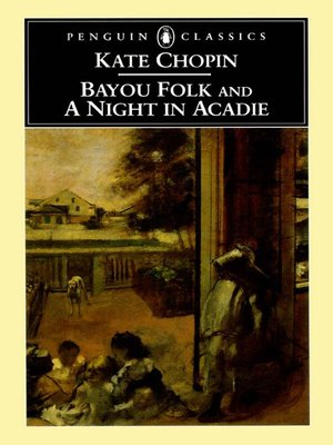 cover image of Bayou Folk and A Night in Acadie