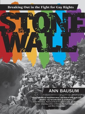 cover image of Stonewall--Breaking Out in the Fight for Gay Rights