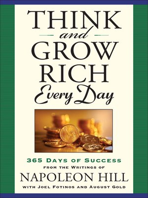 cover image of Think and Grow Rich Every Day