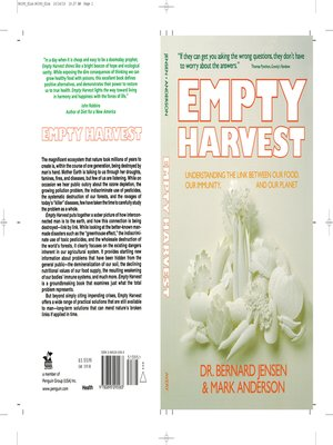 cover image of Empty Harvest