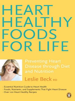cover image of Heart Healthy Foods for Life