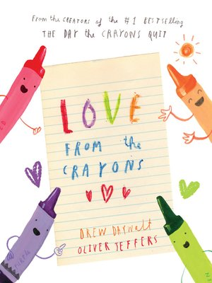 cover image of Love from the Crayons