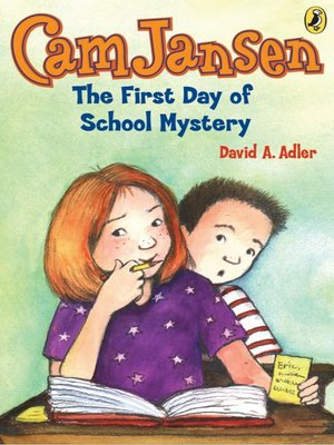 cover image of The First Day of School Mystery