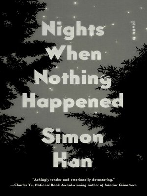 cover image of Nights When Nothing Happened